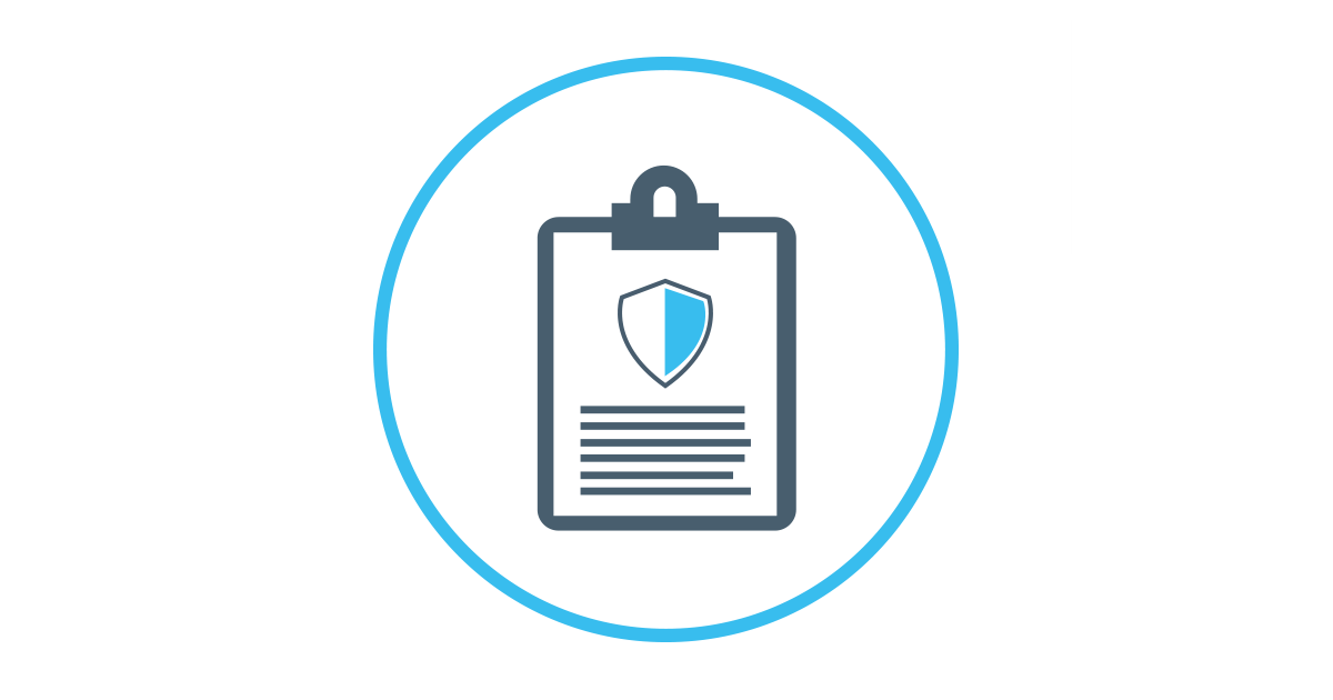 NHSCFA Privacy policy icon
